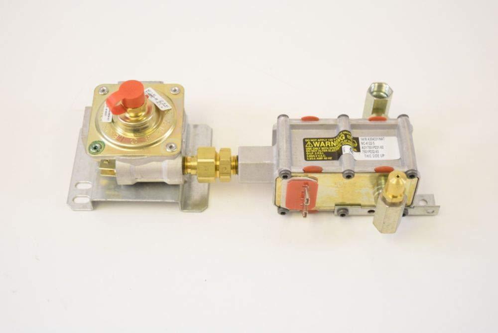 Whirlpool W10130932 Range Gas Valve and Regulator Assembly Genuine Original Equipment Manufacturer (OEM) Part