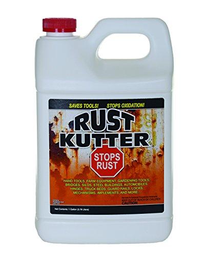 Rust Kutter- Rust Converter, Stops Rust, Professional Rust Repair - Gallon