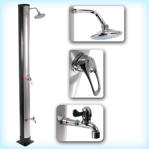 giordano toute la douche solaire avec robinet mon robinet. Black Bedroom Furniture Sets. Home Design Ideas