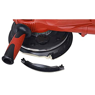 IBELL Dry Wall Sander DS80-90, 180MM, 800W, 1200-2300rpm with Vacuum and LED Light 12