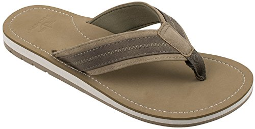 Dockers Men's Austin Premium Casual Sandal Flip Flop, Tan, 9 M US by Dockers
