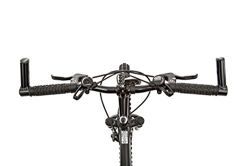TITAN Knight 21 Speed Aluminum Front Suspension Men's All Terrain Mountain Bike with Disc Brake