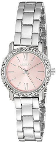 Geneva FMDG009 12mm Alloy Silver Watch Bracelet