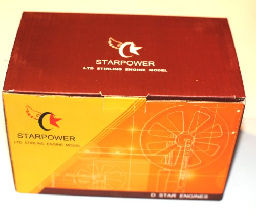 Low Temperature Stainless Steel Stirling Engine Model (Tested Before Shipping) by Dstar (Image #5)