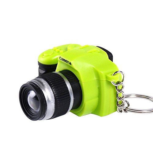 Mini Toy LED Camera Charm Bag Key Chain with Flash Light Sound Effect Gift Toy ()