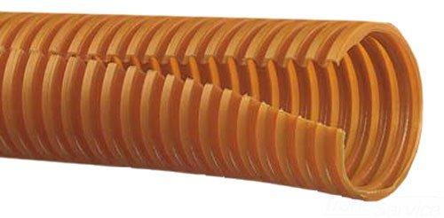 Panduit CLT50F-C3 Slit Wall Corrugated Loom Tubing, Orange