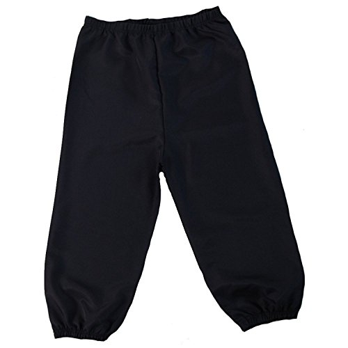 Boys/Mens Knickers (Boys Knickers Size Medium 8/10, Black)