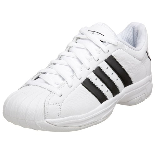 Amazon.com | adidas Men's Superstar 2G Basketball Shoe, White/Black/White, 15 M | Basketball