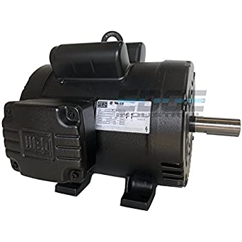 NEW 5HP 184T FRAME WEG ELECTRIC MOTOR FOR AIR COMPRESSOR 1750 RPM ...