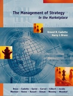The Management of Strategy in the Marketplace pdf
