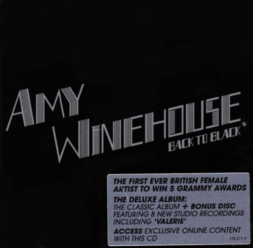Amy winehouse back to black (cd, album, reissue) | discogs.