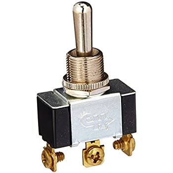 New Heavy-duty Single Pole Toggle Switch cole Hersee 5586bx On//Off//On Terminals