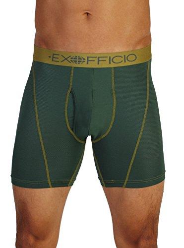 ExOfficio Men's Give-N-Go Sport Mesh 6-Inch Boxer Brief, Pet