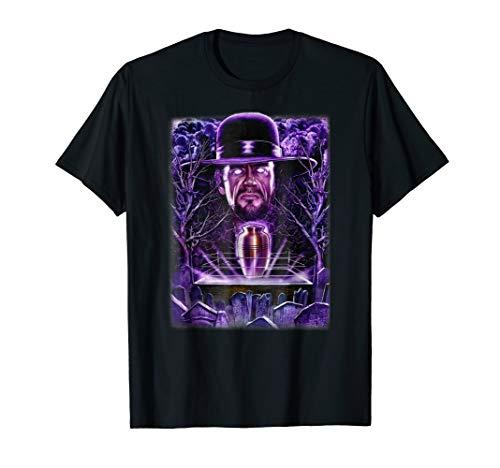 WWE Undertaker Urn And Souls Wrestling Graveyard T-Shirt