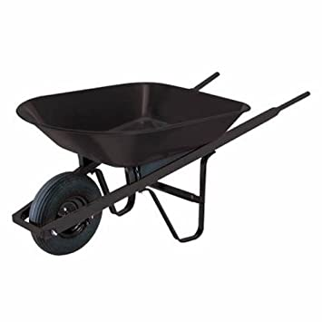 Ames True Temper S4 30 4 Cubic Foot Steel Homeowner Wheelbarrow  (Discontinued By Manufacturer)