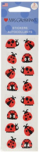 Ladybugs Stickers - Mrs Grossman Stickers-Chubby Ladybugs