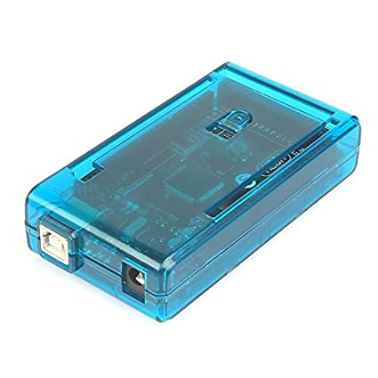 sb components Arduino Mega Case Enclosure New Blue Transparent Computer Box  with Switch