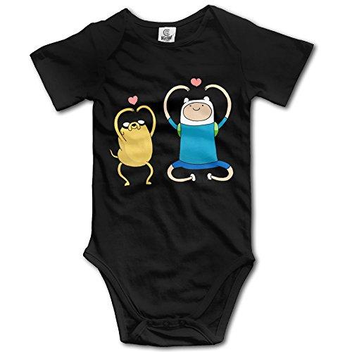 CHYY Newborn's Adventure Time Organic Baby Onesie Clothes - Adventure Time Baby Clothes
