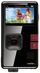 Creative Labs Vado HD 8 GB Pocket Video Camcorder, 2nd Generation (Black Gloss with Maroon Accents) (Discontinued by Manufacturer)