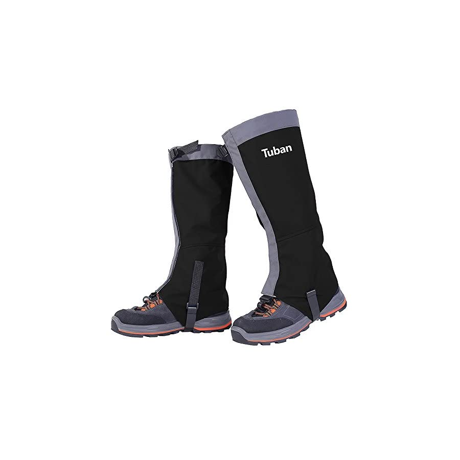 Lucky2Buy Unisex Waterproof Snow Leg Gaiter Cold Resistant Anti Scratch Wear Resistant Hiking Boots Gaiters Shoe Boot Gaiter