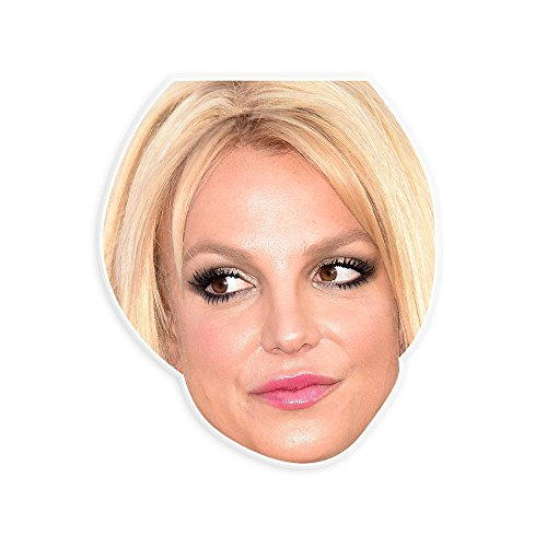 [Disgusted Britney Spears Mask - Perfect for Halloween, Masquerade, Parties, Events, Festivals, Concerts - Jumbo Size] (Britney Spears Concert Costumes)