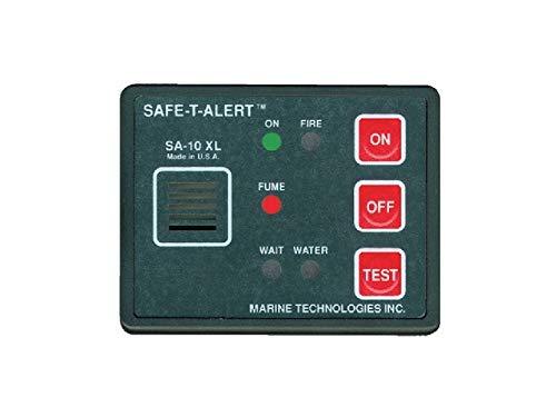 Safe T Alert Gas Vapor Alarm, Fume, Fire & Flood/Bilge Water Detect. [SA-10XL] by Safe T Alert
