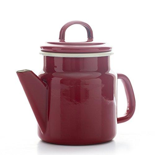 clásico Home–Dexam–1.2L esmalte de cafetera/tetera, claret rojo