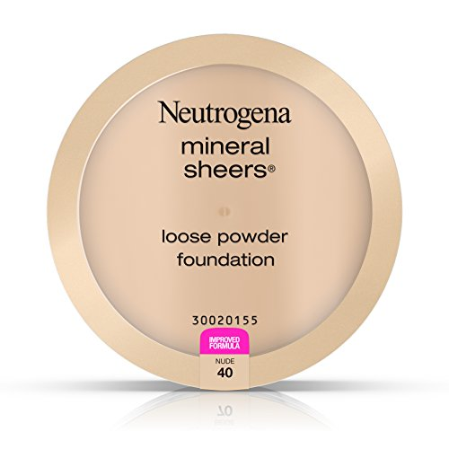 Neutrogena Mineral Sheers Loose Powder Foundation, Nude 40, .19 Oz.