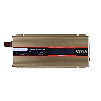 Sedeta 1200W real car Power Inverters DC12V to 220V High Frequency LED Display Outlet Inverter Adapter
