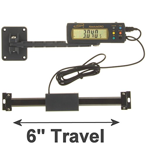 iGaging 6'' Absolute Digital Readout DRO Stainless Steel Super High Accuracy w/Remote Reading by iGaging