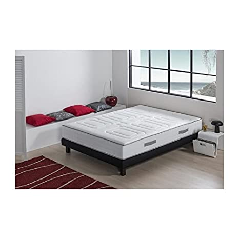 Capitolio Luxe Conjunto colchón + somier 160 x 200 cm - Espuma HR - 25 cm - Ferm: Amazon.es: Hogar
