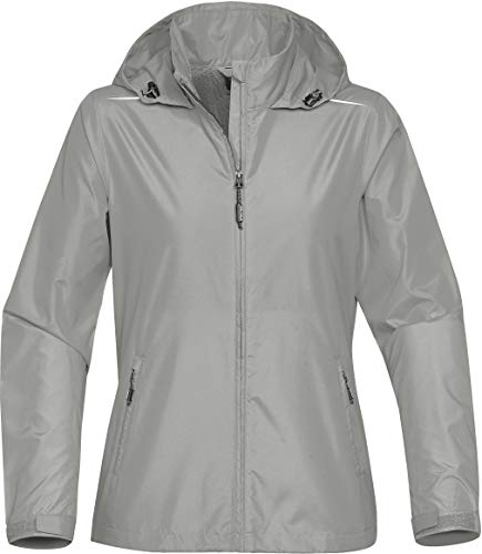 Nautilus Outdoor Shell - Stormtech Women's Nautilus Performance Shell - KX-1W, Cool Silver, MED