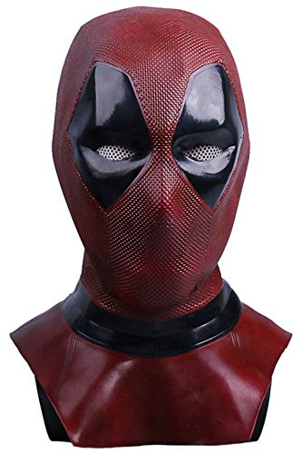 CHECKIN Halloween Latex Deluxe Masks Adult Costume Full Face Mask Cosplay Props