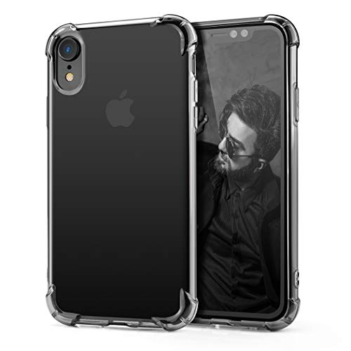 Phone case Compatible iPhone XR, Besiva Slim Fit Premium Hybrid Shock Absorbing & Scratch Resistant TPU Bumper Clear Case Cover for Apple iPhone XR (2018)