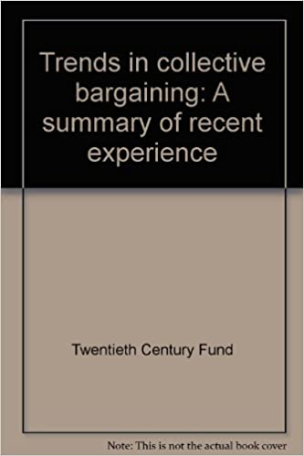recent trends in collective bargaining