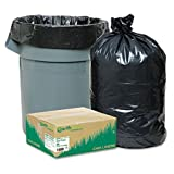 Earthsense Commercial - Recycled Large Trash and Yard Bags, 33gal, .9mil, 32.5 x 40, Black, 80/Carton RNW1TL80 (DMi CT