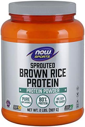 [海外直送品] ナウフーズ Sprouted Brown Rice Protein 2 Lbs by