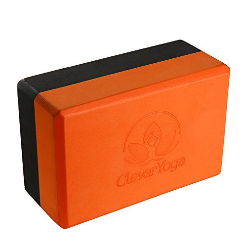 Clever Yoga Blocks 9'x6'x4' Exercise Block - The Best Durable Eco Friendly...
