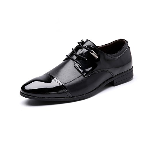 ZhaoDao158 Men's Business Dress Leather Oxfords Shoes