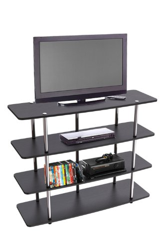 Convenience Concepts Designs2Go Highboy TV Stand, X-Large, Black by Convenience Concepts