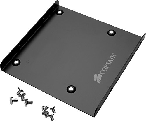 "Corsair SSD Mounting Bracket Kit 2.5"" to 3.5"" drive bay(CSSD-BRKT1) 1 Support 2.5""-3.5"" drive bays Compatible with all Corsair SSDs Bays: 1 x internal - 2.5"""
