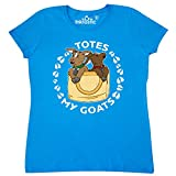 Inktastic Cute Goats Totes My Goats Women's T-Shirt Small Sapphire