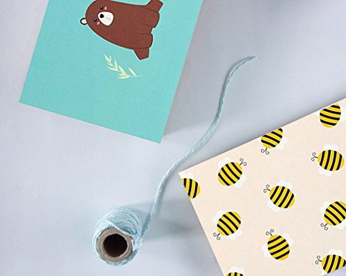48 Pack All Occasion Assorted Blank Note Cards Greeting Cards Bulk Box Set -  6 Honey Bear Designs - Blank on the Inside Notecards with Envelopes Included - 4 x 6 Inches by Best Paper Greetings (Image #2)