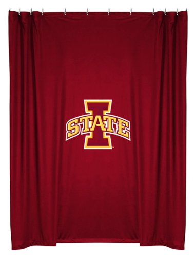 Sports Coverage IowaSC Iowa State University Shower Curtain