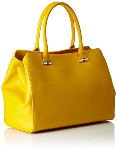 Trussardi 75b491xx53, Borsa a Mano Donna, 37x27x19 cm (W x H x L) Multicolore (Yellow P16)
