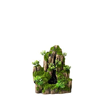 Aqua Della One-Way Moss Rock Acuario Cascada: Amazon.es: Productos para mascotas