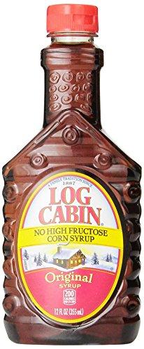 Log Cabin No High Fructose Corn Syrup, Original, 12 oz (Pack of 1)