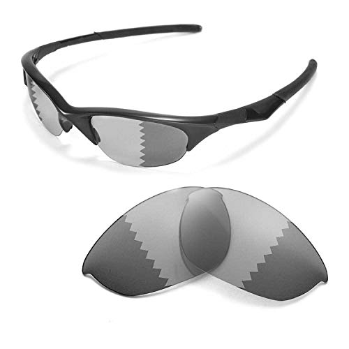 - Walleva Replacement Lenses for Oakley Half Jacket Sunglasses - Multiple Options Available (Transition/photochromic - Polarized)