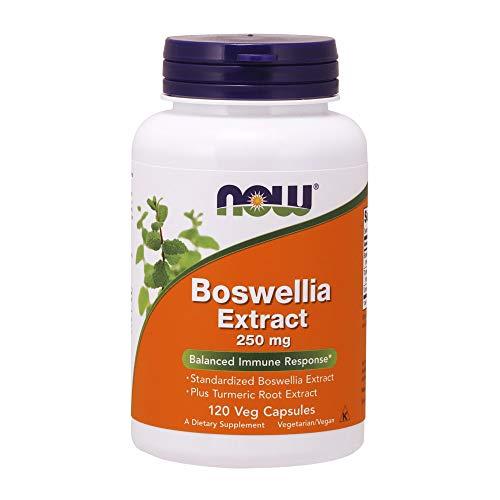 NOW Boswellia Extract 250 mg,120 Veg Capsules