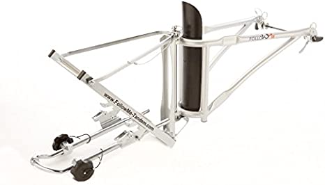 Follow me. Tandem de acoplamiento – Remolque de bicicleta, Plata ...